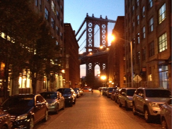 Cobble Stone and Beautiful Views in Dumbo, Brooklyn