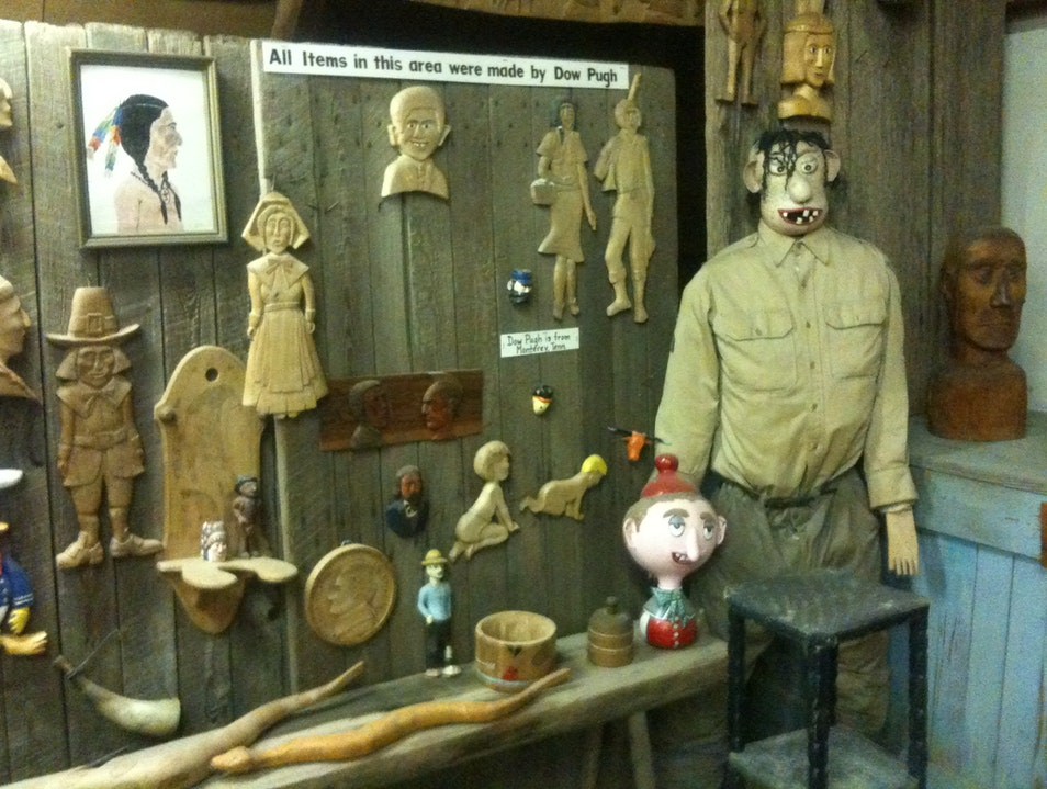 Encounter unusual crafts at the Museum of Appalachia Clinton Tennessee United States