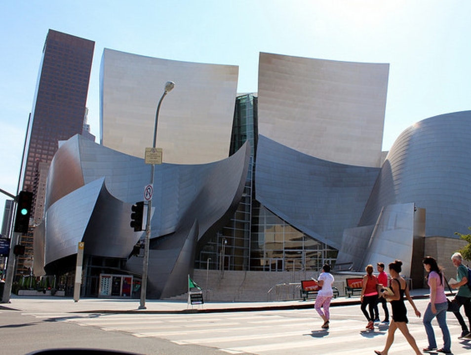 Get Surrounded by Sound at the Walt Disney Concert Hall