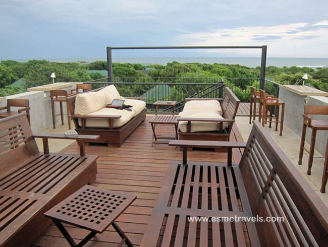 Rooftop Deck at Cinnamon Wild Yala