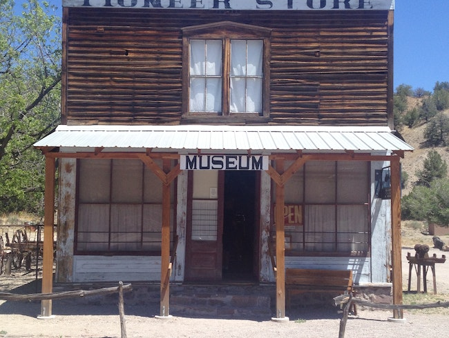 Explore Pioneer-Era Life at a Mining Ghost Town