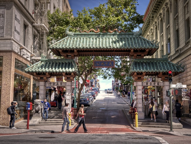 Stroll through San Francisco's Chinatown