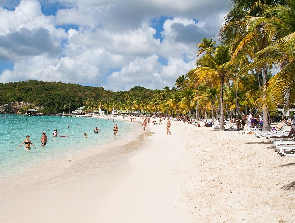 If You're Looking for an Adults-Only Caribbean Beach Scene