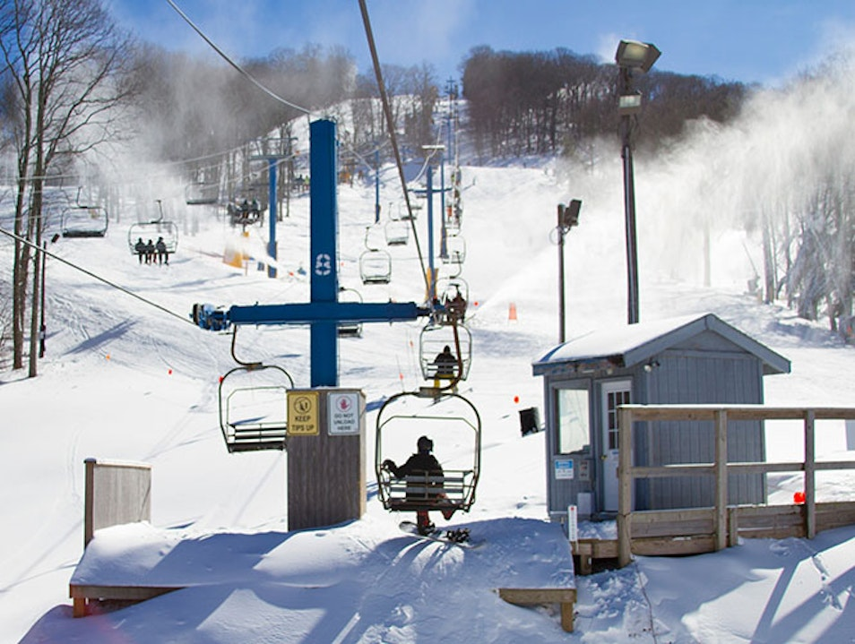 Cataloochee Ski Area Maggie Valley North Carolina United States