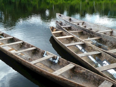 Log Canoes Juruti  Brazil