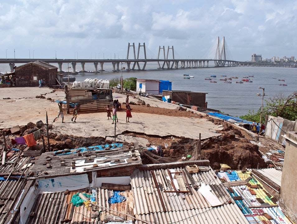 Bandra-Worli Sea Link Mumbai  India