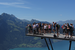 The View from Harder Kulm's Two Lakes Bridge Interlaken  Switzerland