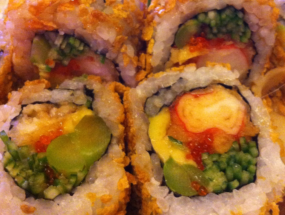 Delicious Sushi Not So Far East