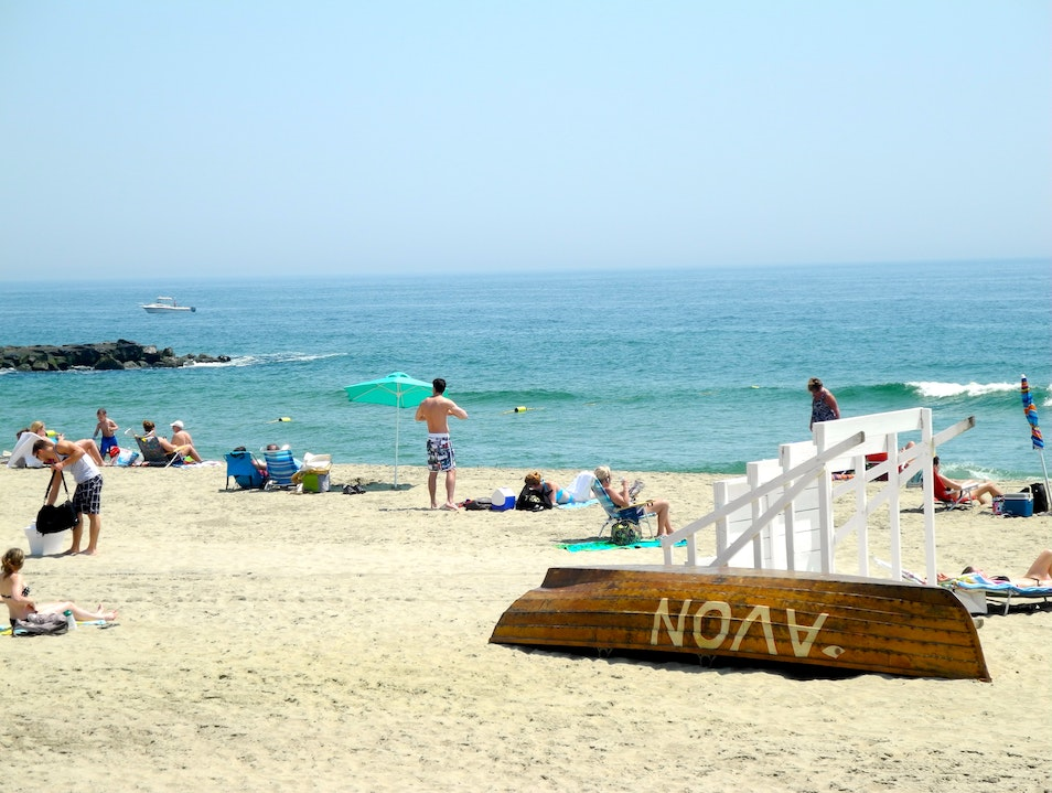 Here Comes Summer at the Jersey Shore Avon-by-the-Sea New Jersey United States