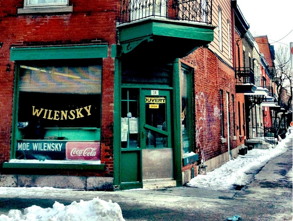 One of the Oldest Diners: Wilensky's Montreal  Canada