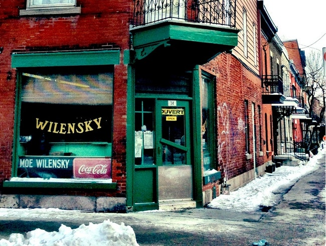 One of the Oldest Diners: Wilensky's
