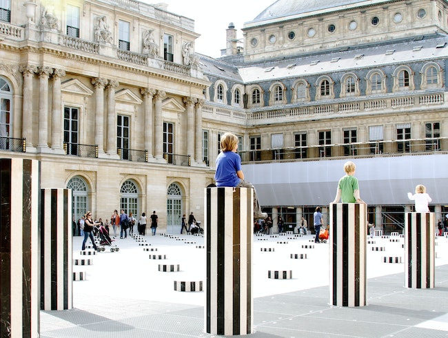 Palais Royal Pillars