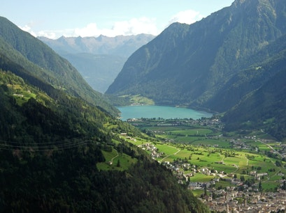 Lago di Poschiavo, Switzerland Poschiavo  Switzerland