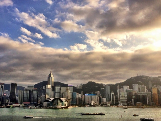 Afternoon Cocktails with $Billion HK View