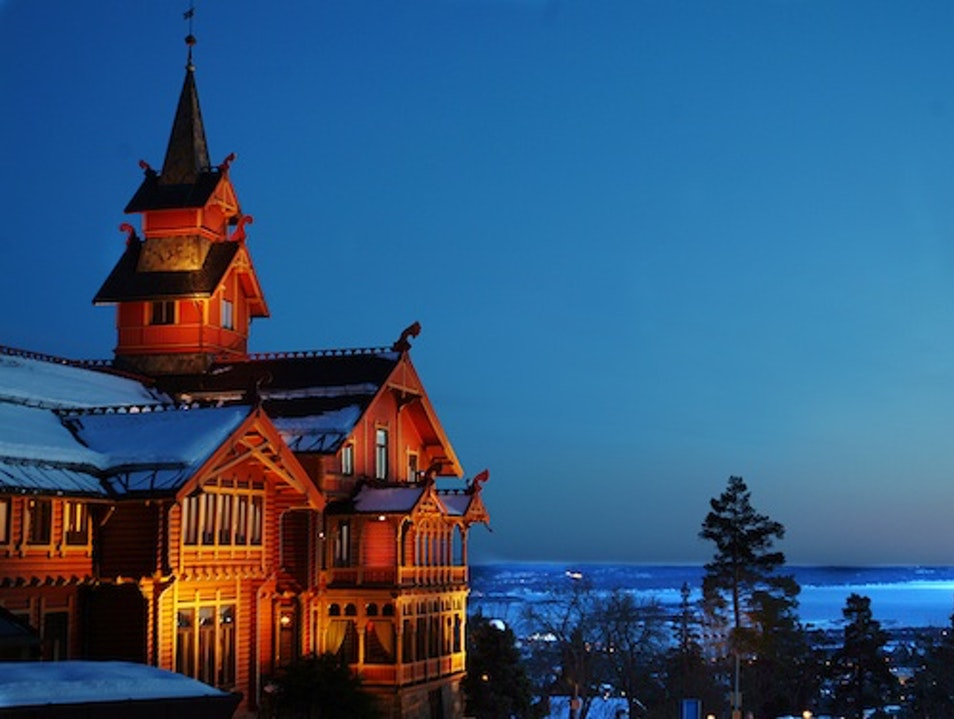Timber Lodges: Holmenkollen Park Hotel, Oslo, Norway Oslo  Norway