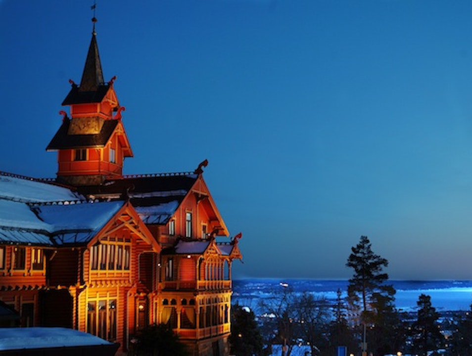 Timber Lodges: Holmenkollen Park Hotel, Oslo, Norway