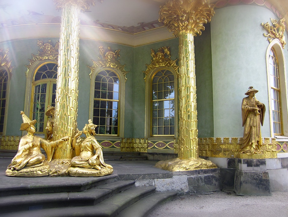 Chinoiserie Architecture Style in Potsdam Potsdam  Germany