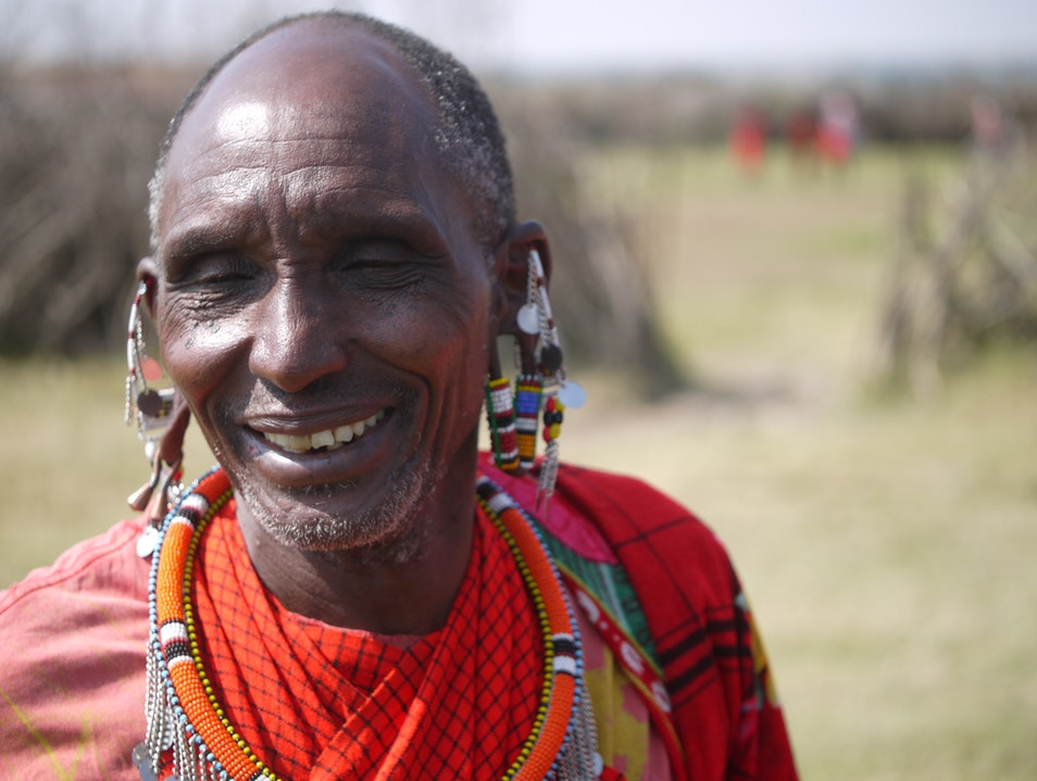 A Happy Chief. Marsabit  Kenya
