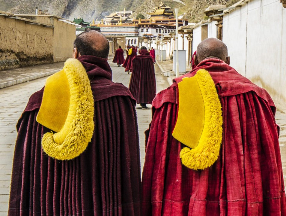 The Monks of Xiahe's Labrang Monastery Gannan  China