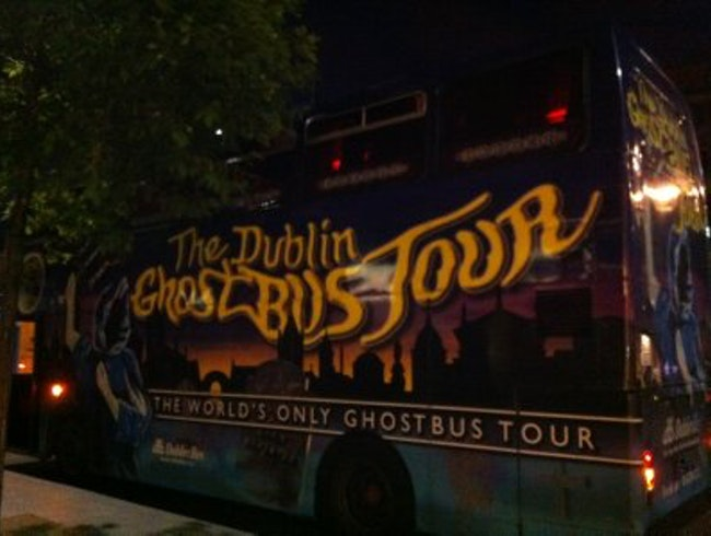 The Spooky Dublin Ghost Bus Tour
