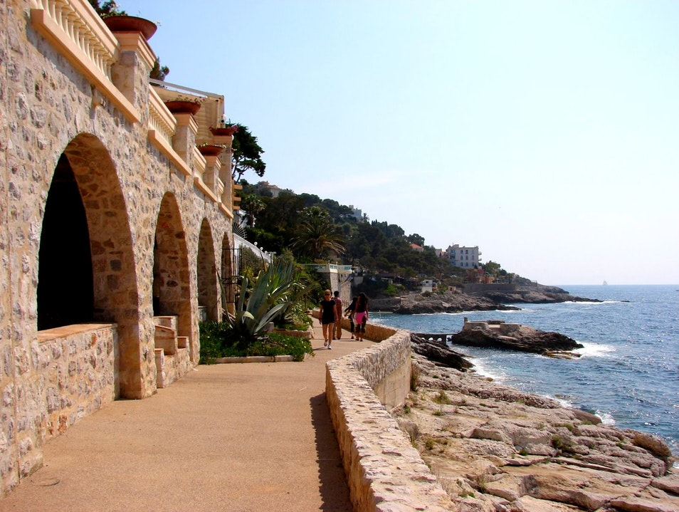 Walking the French Riviera Cap D'ail  France