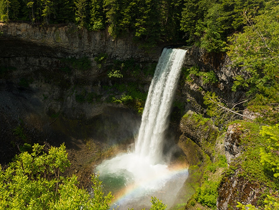 Brandywine Falls Provincial Park Whistler  Canada