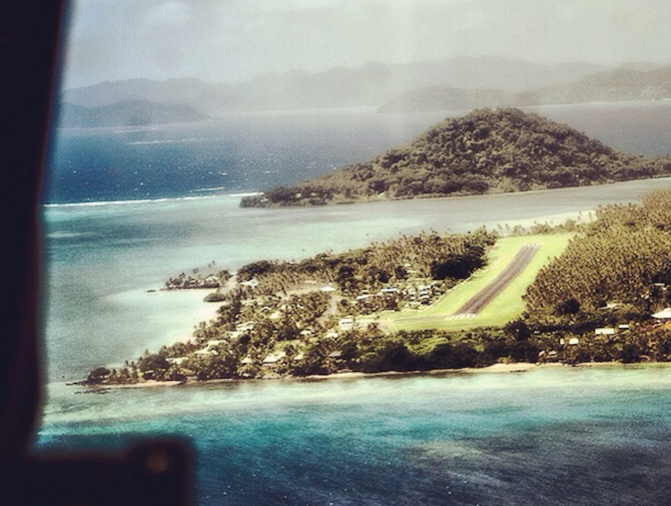 fly into Fiji and dive at Cousteau 5 star hotel  Navosa  Fiji