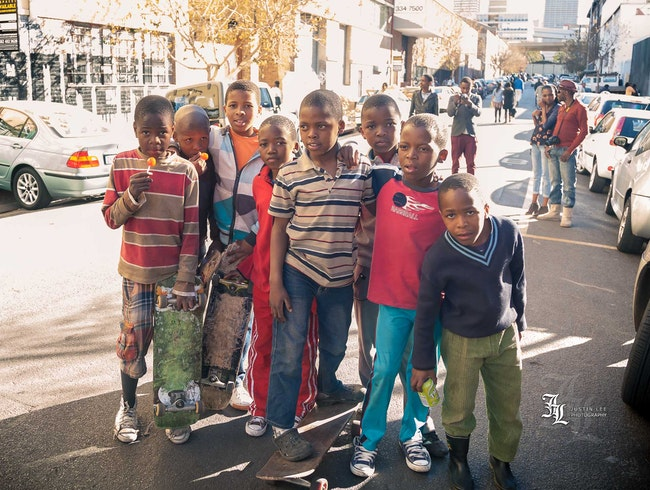 Skate or Ride Through Maboneng