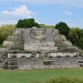 Altun Ha Rock Stone Pond  Belize
