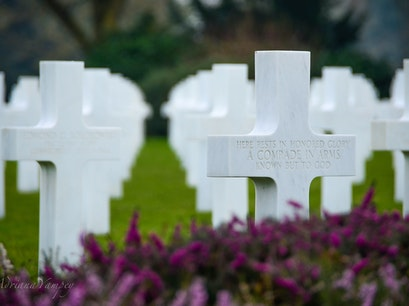 American Military Cemetery and Memorial Colleville Sur Mer  France