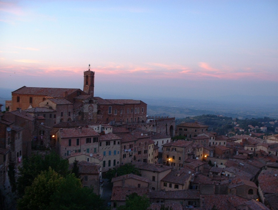 A Room with a View  Montepulciano  Italy