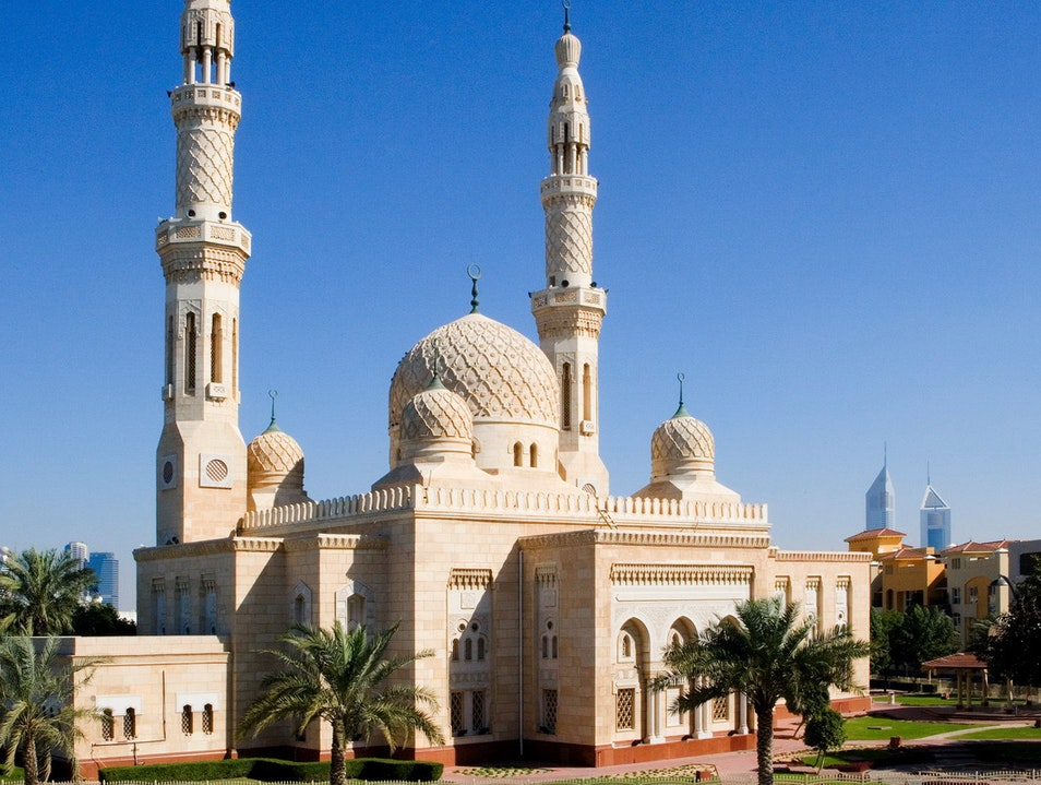 Jumeirah Mosque Dubai  United Arab Emirates