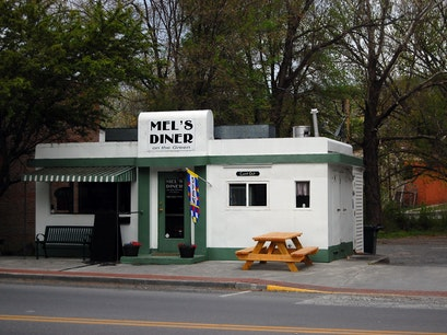 Mel's Diner White Sulphur Springs West Virginia United States