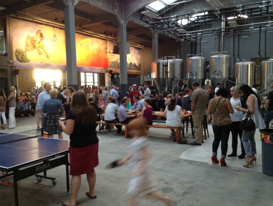 Great New Brewery in an 'Old Beer Town'