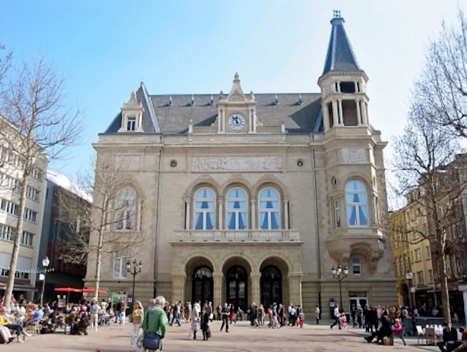 Cercle Municipal And Place d'Armes Luxembourg  Luxembourg