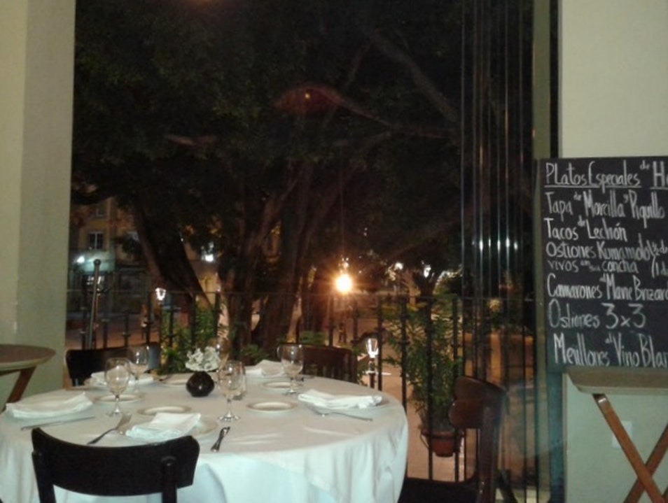 Fine Dining Above the Zocalo Oaxaca  Mexico