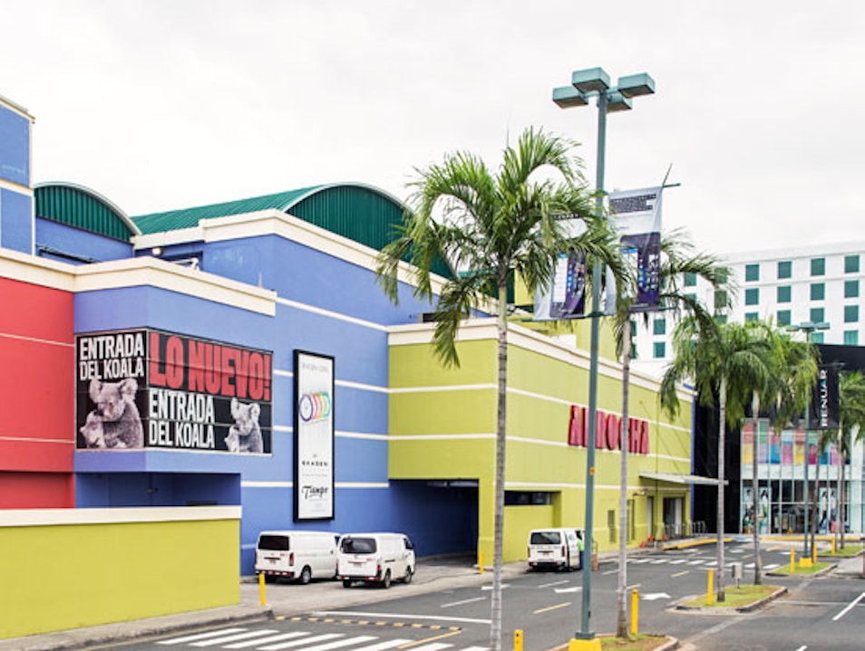 Central America's Mega Mall Panama City  Panama