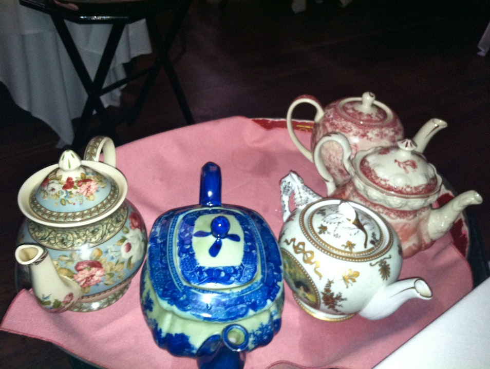 High Tea at Lady Lady Mendl's New York New York United States