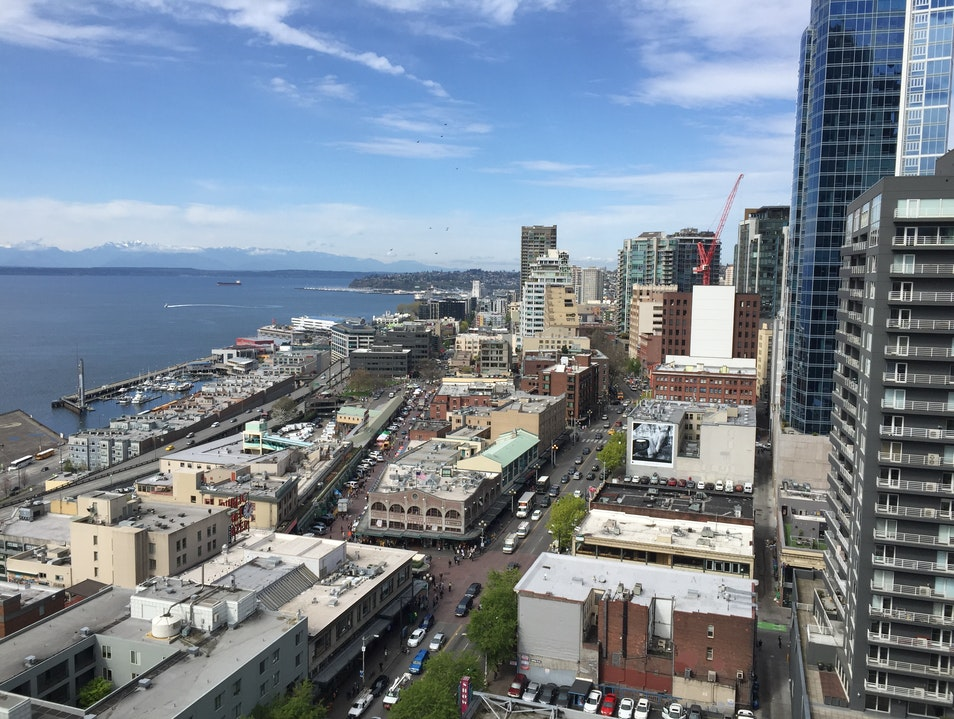 Sweeping Views of Downtown Seattle Seattle Washington United States