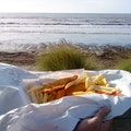 Fish 'n' Chips at the Beach Auckland  New Zealand