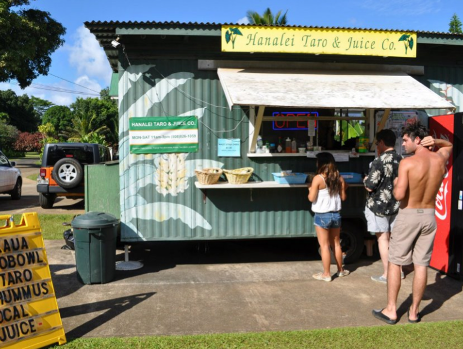 Hawaiian Cuisine in the Heart of Hanalei