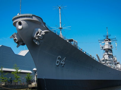 USS Wisconsin BB-64 Norfolk Virginia United States