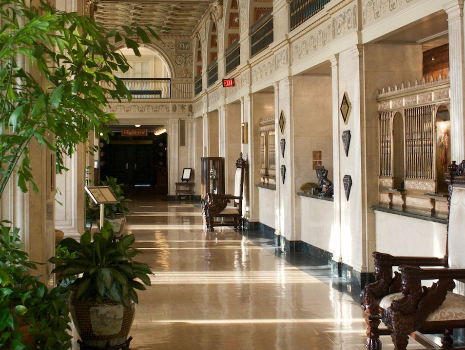 Southern Opulence at the Brown Hotel, Louisville