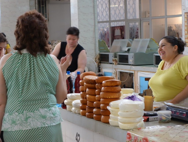 The Cheese Lady of Abkhazia