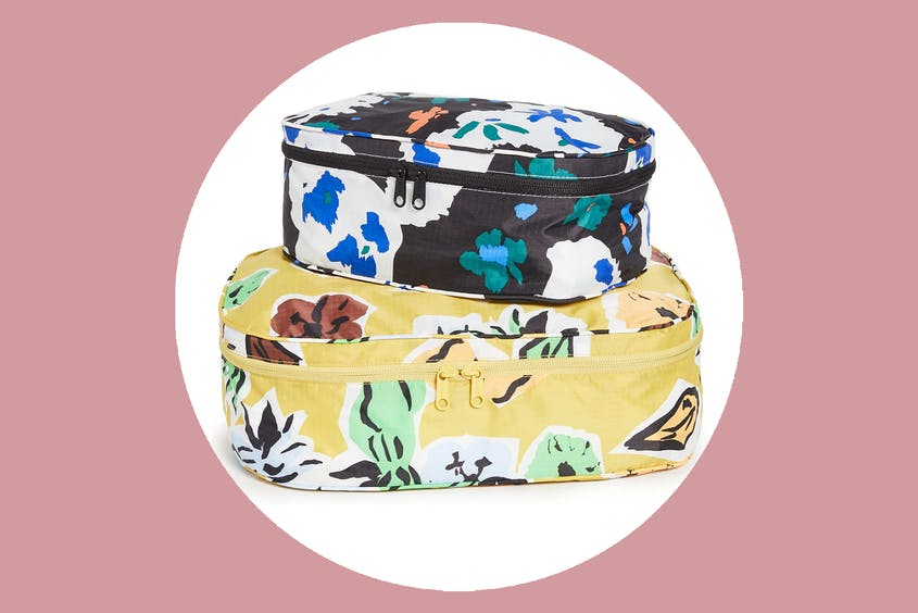 These Baggu cubes are machine washable, too.