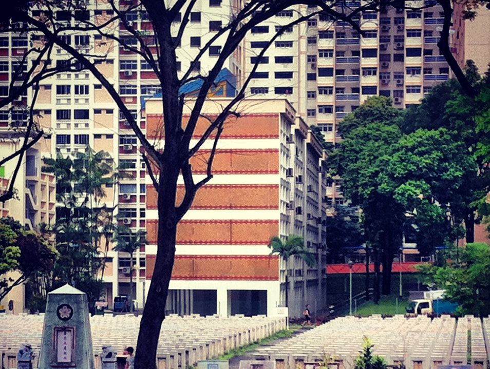 An Urban Graveyard in the Heartlands Singapore  Singapore