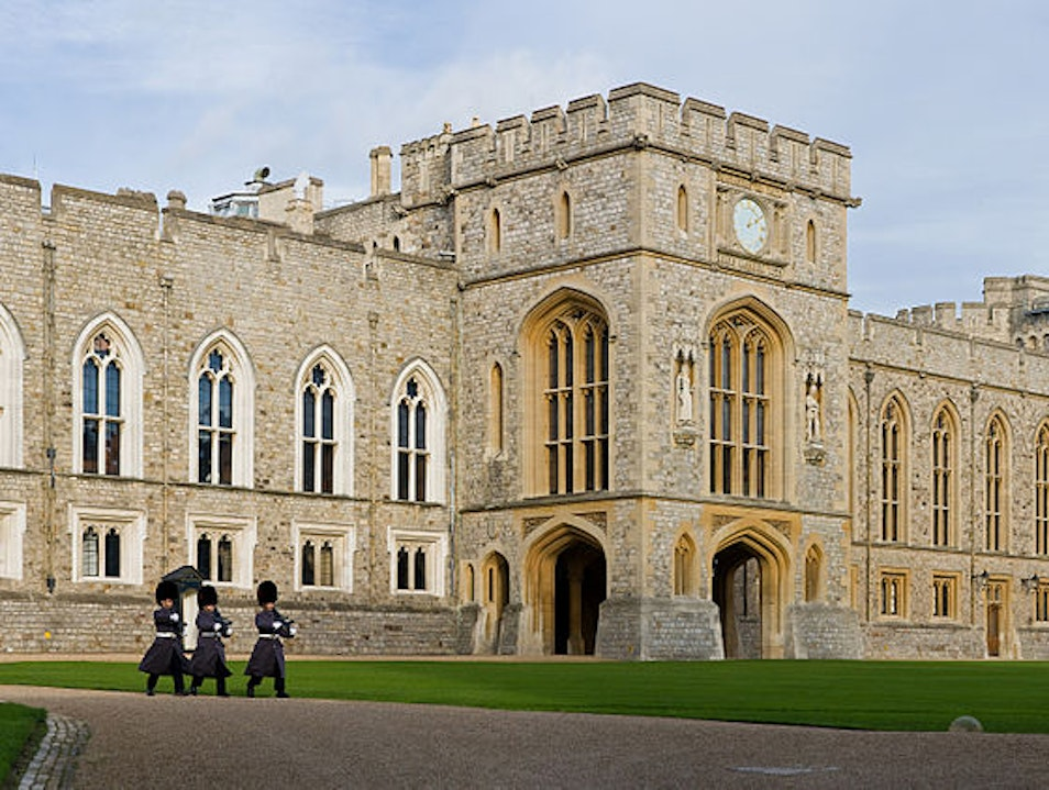 Visit a historic castle Windsor  United Kingdom