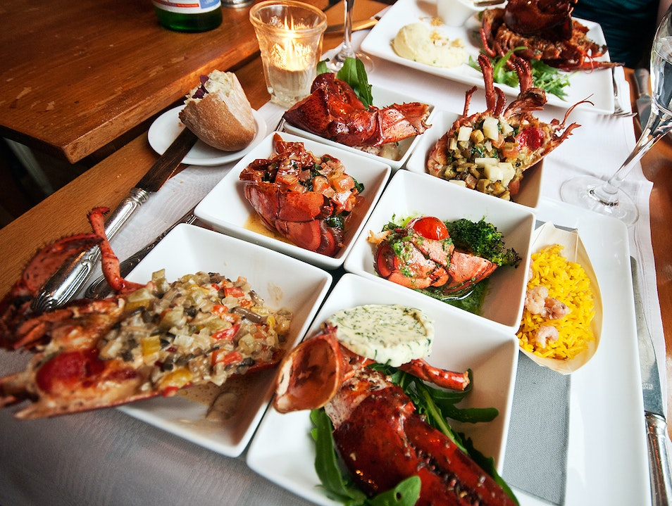 Lobster Six Ways Ghent  Belgium