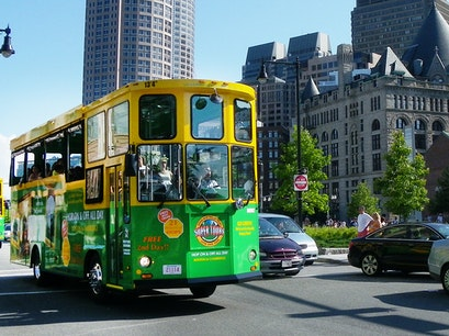 Upper Deck Trolley Tour Boston Massachusetts United States