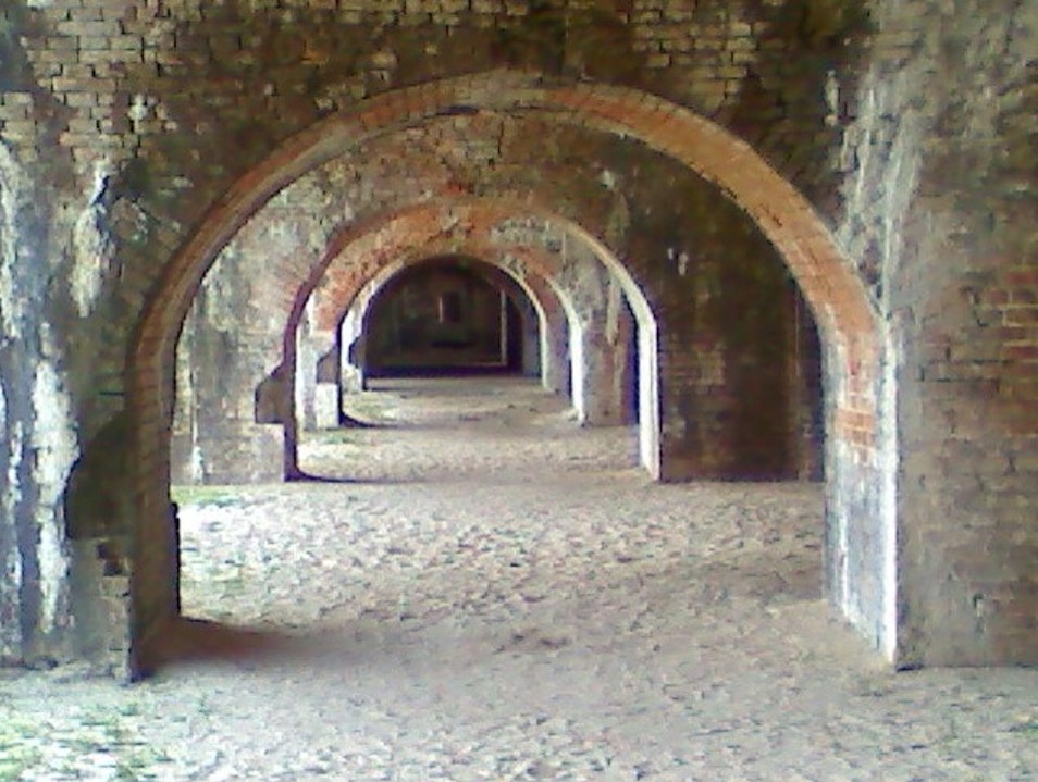 Arched Tunnels Pensacola Beach Florida United States